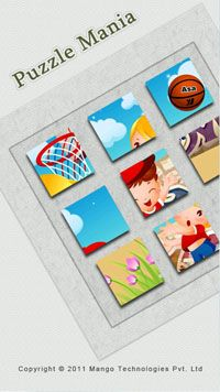 Puzzle Mania - Symbian game screenshots. Gameplay Puzzle Mania