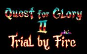 In addition to the sis game Prince of Persia for Symbian phones, you can also download Quest for Glory 2: Trial by Fire for free.