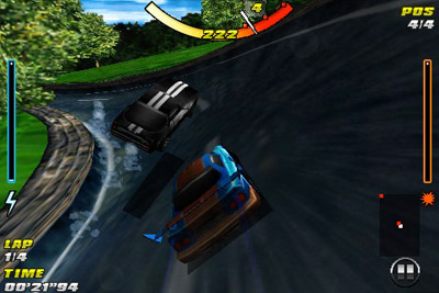 Raging thunder - Symbian game screenshots. Gameplay Raging thunder