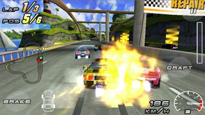 Raging Thunder 2 - Symbian game screenshots. Gameplay Raging Thunder 2