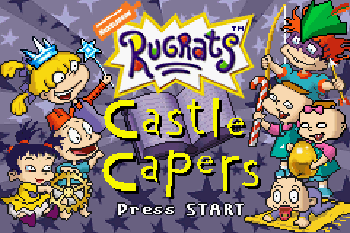 Rugrats Castle Capers download free Symbian game. Daily updates with the best sis games.