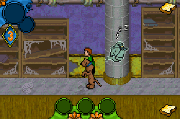 Scooby-Doo Mystery Mayhem - Symbian game screenshots. Gameplay Scooby-Doo Mystery Mayhem