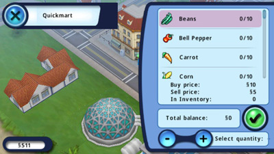 Sims 3 HD full - Symbian game screenshots. Gameplay Sims 3 HD full