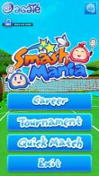 In addition to the sis game Sonic Advance 3 for Symbian phones, you can also download Smash Mania for free.