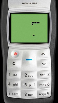 Snake - Symbian game screenshots. Gameplay Snake