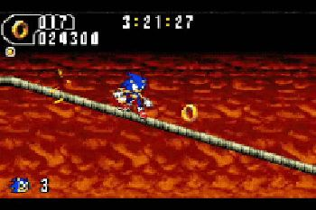 Sonic Advance 2 - Symbian game screenshots. Gameplay Sonic Advance 2
