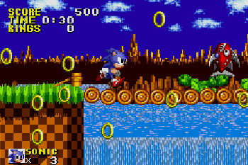 Sonic The Hedgehog Genesis - Symbian game screenshots. Gameplay Sonic The Hedgehog Genesis