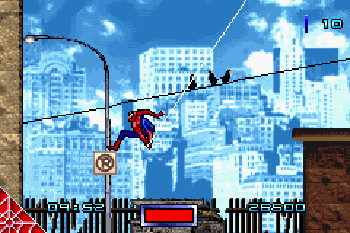 Spider-Man - Symbian game screenshots. Gameplay Spider-Man