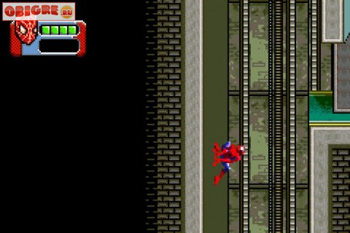 Spider-Man 3 - Symbian game screenshots. Gameplay Spider-Man 3