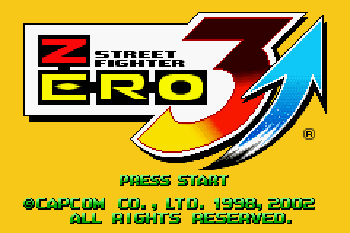 Street Fighter Zero 3 Upper - Symbian game screenshots. Gameplay Street Fighter Zero 3 Upper