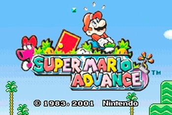 Super Mario Advance - Symbian game screenshots. Gameplay Super Mario Advance