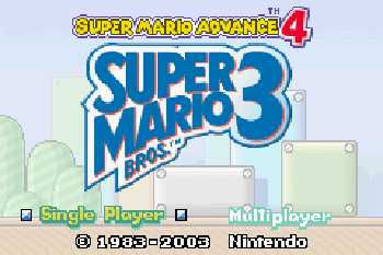 Super Mario Advance 4: Super Mario Bros. 3 download free Symbian game. Daily updates with the best sis games.