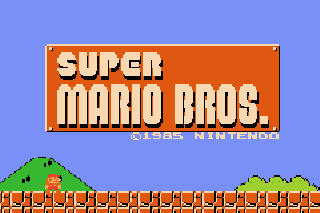 Super Mario Bros - Symbian game screenshots. Gameplay Super Mario Bros