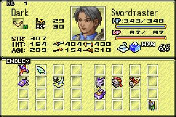 Tactics Ogre: The Knight of Lodis - Symbian game screenshots. Gameplay