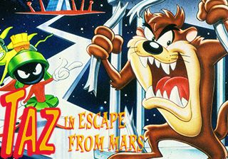 Taz in Escape from Mars download free Symbian game. Daily updates with the best sis games.
