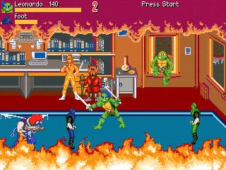 Teenage Mutant Ninja Turtles III: The Manhattan Project - Symbian game screenshots. Gameplay Teenage Mutant Ninja Turtles III: The Manhattan Project