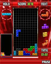 Tetris - Symbian game screenshots. Gameplay Tetris