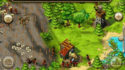 The Settlers HD - Symbian game screenshots. Gameplay The Settlers HD