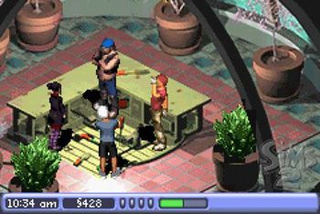 The Sims 2 - Symbian game screenshots. Gameplay The Sims 2