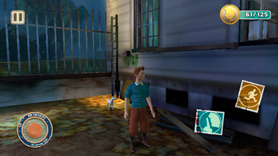 The Adventures of TinTin HD - Symbian game screenshots. Gameplay The Adventures of TinTin HD