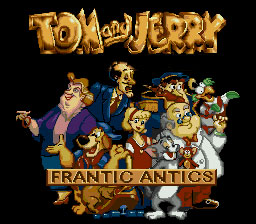 Tom and Jerry: Frantic antics! download free Symbian game. Daily updates with the best sis games.
