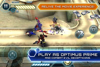 Transformers Dark Of The Moon HD - Symbian game screenshots. Gameplay Transformers Dark Of The Moon HD
