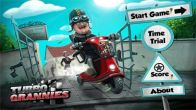 In addition to the sis game Raging Thunder 2 for Symbian phones, you can also download Turbo Grannies for free.