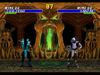 Ultimate Mortal Kombat 3 - Symbian game screenshots. Gameplay Ultimate Mortal Kombat 3