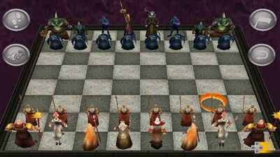 WarChess 3D - Symbian game screenshots. Gameplay WarChess 3D