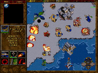 Warcraft 2 - Symbian game screenshots. Gameplay Warcraft 2