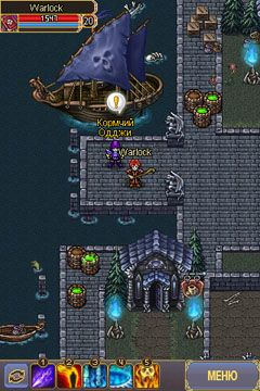Warspear - Symbian game screenshots. Gameplay Warspear