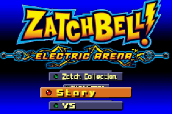 ZatchBell! Electric Arena - Symbian game screenshots. Gameplay ZatchBell! Electric Arena
